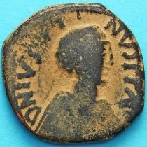 Византия 40 нуммий Юстин 518-527 год. №6
