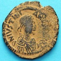 Византия 40 нуммий Юстиниан I 527-532 год. №4