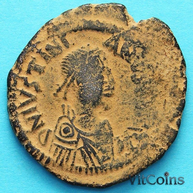 Византия монета 40 нуммий Юстиниан I 527-532  год. №4