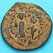 Византия фоллис Ираклий и Ираклий Константин 610-641 год. Перечекан №2