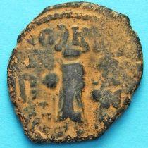 Византия фоллис Ираклий  610-641 год. №2