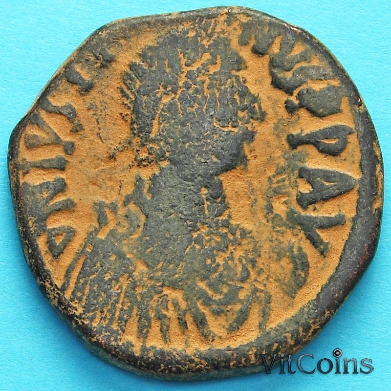 Византия 40 нуммий Юстин 518-527 год. №8