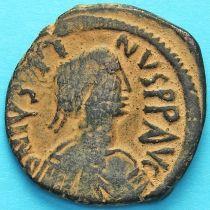 Византия 40 нуммий Юстин 518-527 год. №10