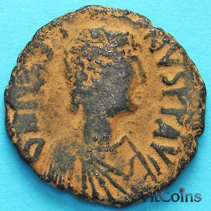 Византия 40 нуммий Юстин 518-527 год. №11