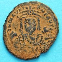 Византия 40 нуммий Маврикий Тиберий 596 год. №2