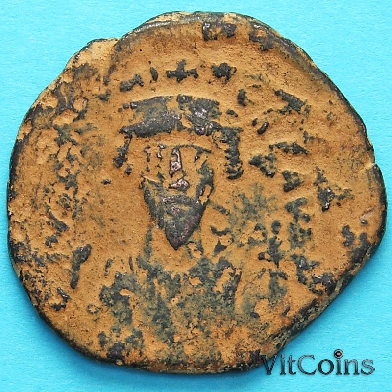 Монета Византия 40 нуммий Фока 602-610 год. №2