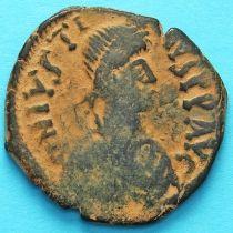 Византия 40 нуммий Юстин 518-527 год. №12