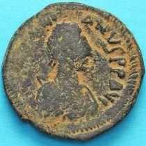 Византия 40 нуммий Юстиниан I 527-532 год. №7