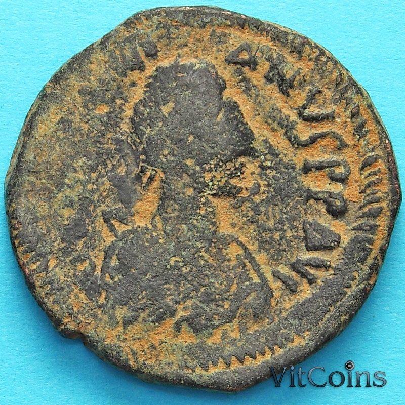 Монета Византия 40 нуммий Юстиниан I 527-532  год. №7