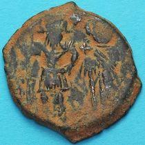 Византия 40 нуммий Ираклий и Ираклий Константин 615-641 год.
