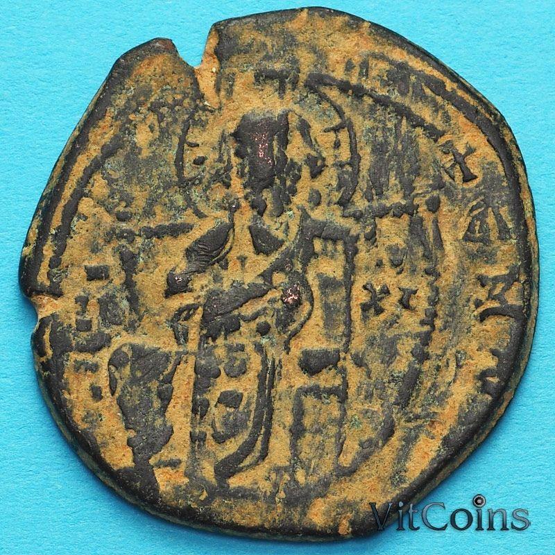 Византия фоллис Василий II  976-1028 год. №3
