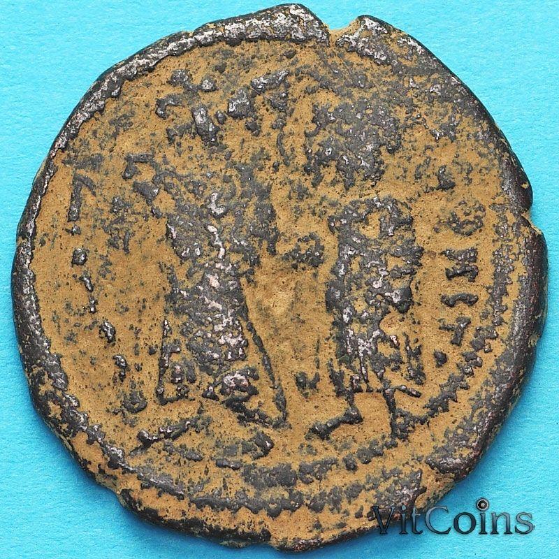 Византия 40 нуммий Ираклий и Ираклий Константин 613-616 год. Константинополь.