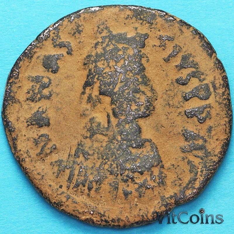 Византия 40 нуммий Анастасий I, 512-517 год.