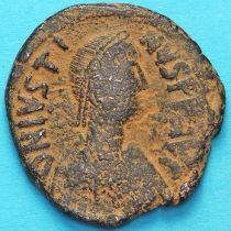 Византия 40 нуммий Юстин 518-527 год.