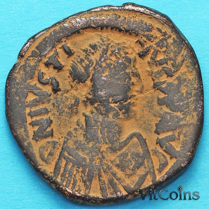 Византия 40 нуммий Юстин 518-527 год. №2