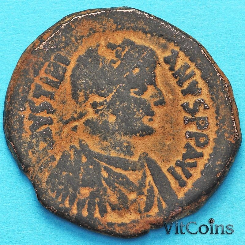Византия 40 нуммий Юстиниан I 527-532  год. Антиохия №3