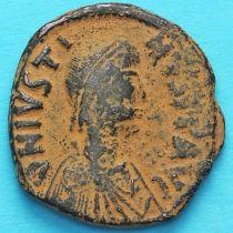 Византия 40 нуммий Юстин 518-527 год. №4