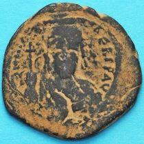 Византия 40 нуммий Маврикий Тиберий 582-602 год.
