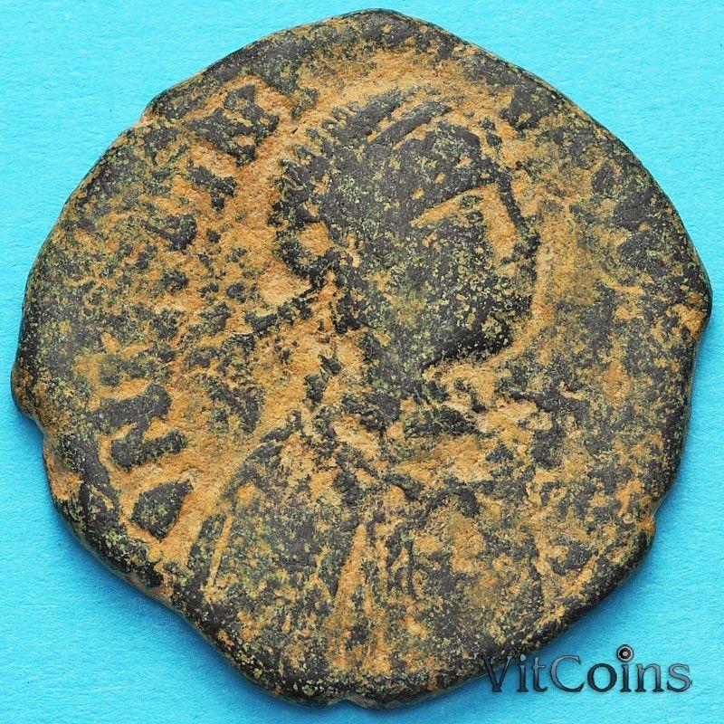 Византия монета 40 нуммий Юстиниан I 527-532  год. №2