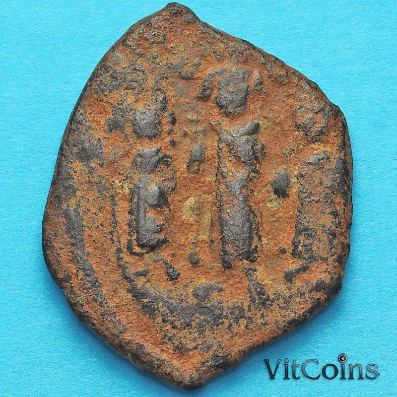 Византия фоллис  Ираклий, Ираклий Константин и Мартина  610-641 год.