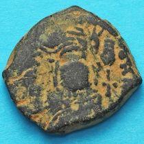 Византия 20 нуммий Маврикий Тиберий 583-584 год. №2