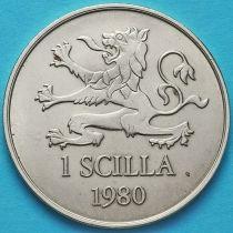 Бельгия, Шильд 1 скилл 1980 год. Торговый токен. Нотгельд.