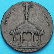 Великобритания, Ипсвич, токен Кондера 1794 год.