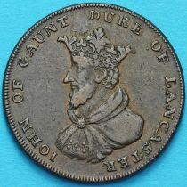 Великобритания, Ланкастер 1/2 пенни 1792 год. Токен.
