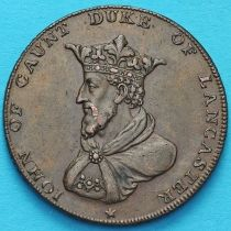 Великобритания, Ланкастер 1/2 пенни 1791 год. Токен. №2