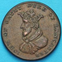 Великобритания, Ланкастер 1/2 пенни 1792 год. Токен. №2