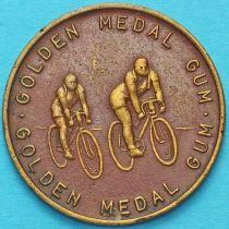 Великобритания, рекламный токен, велосипедный спорт.