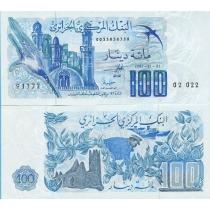 Алжир 100 динар 1981 год. P-131a.1