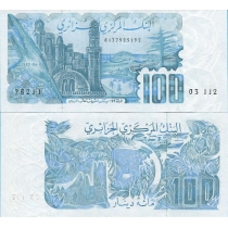 Алжир 100 динар 1982 год.
