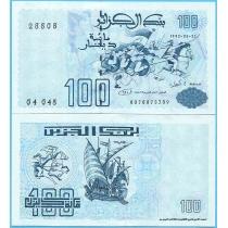 Алжир 100 динар 1992 год.