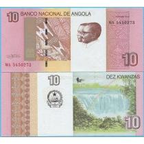 Ангола 10 кванза  2012 (2017) год.