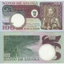 Ангола 100 эскудо 1973 год.