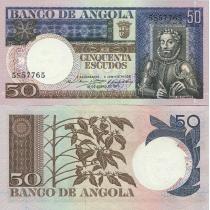 Ангола 50 эскудо 1973 год.