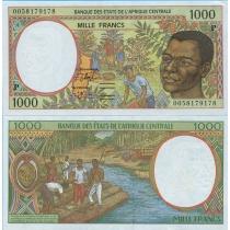 Центральная Африка 1000 франков 2000 год. Чад