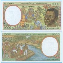 Центральная Африка 1000 франков 2000 год. Конго