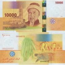 Коморские острова 10000 франков 2006 г.