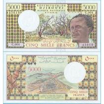 Джибути 5000 франков 1979 год.