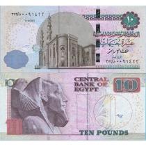 Египет 10 фунтов 2015 год.