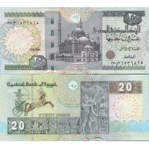 Египет 20 фунтов 2014 г.