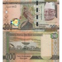 Гамбия 200 даласи 2015 год.