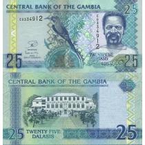 Гамбия 25 даласи 2012 г.
