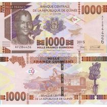 Гвинея 1000 франков 2015 г.