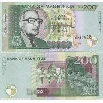 Маврикий 200 рупий 2007 год.
