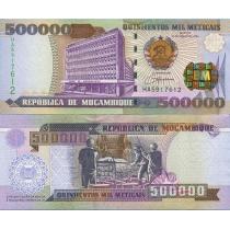 Мозамбик 500000 метикал 2003 г.