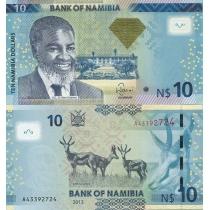 Намибия 10 долларов 2013 год.
