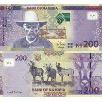 Намибия 200 долларов 2012 год.